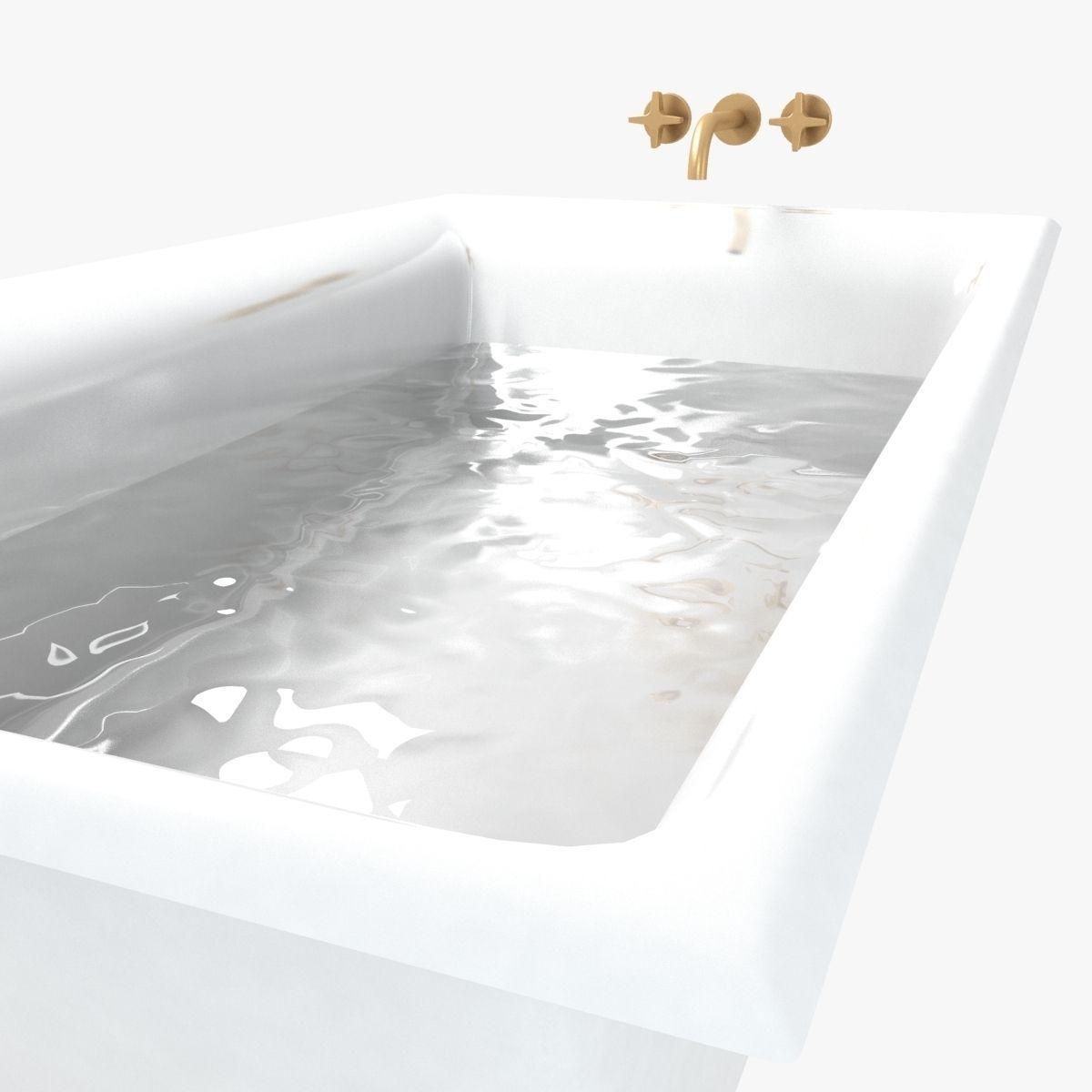 3D Kohler Bath Kallista Tap   CGTrader