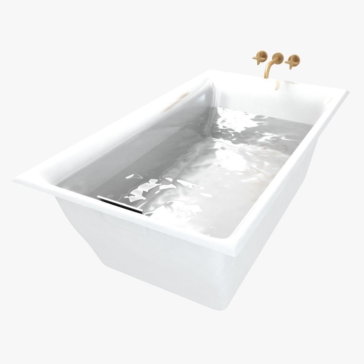 3D Kohler Bath Kallista Tap | CGTrader