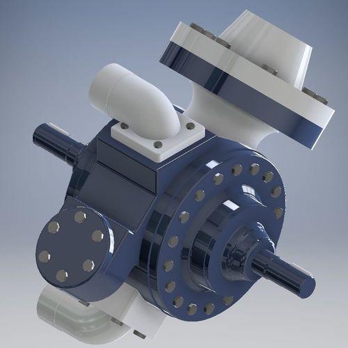 lpg pump 3d model stl 1