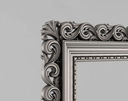 house Frame mirror 3D print model
