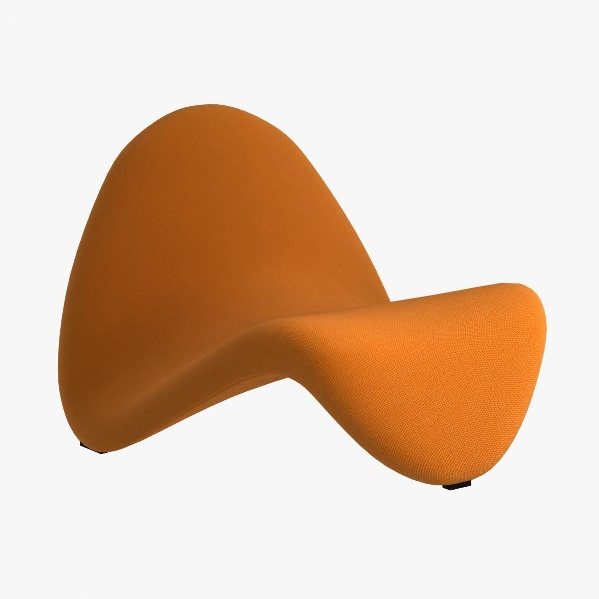 artifort tongue modern chair d model max obj ds fbx mtl - artifort tongue modern chair d model max obj ds fbx mtl
