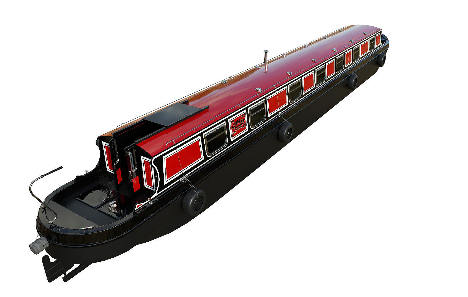 English Canal Boat 02