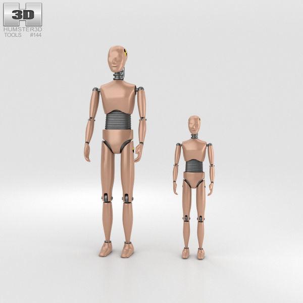 Crash Test Dummy | 3D model