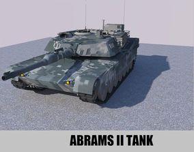 Abram Tank 3D asset game-ready