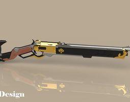 The Viper - Ashe - Overwatch 3D printable model