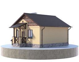 3D model Residential house BP-21