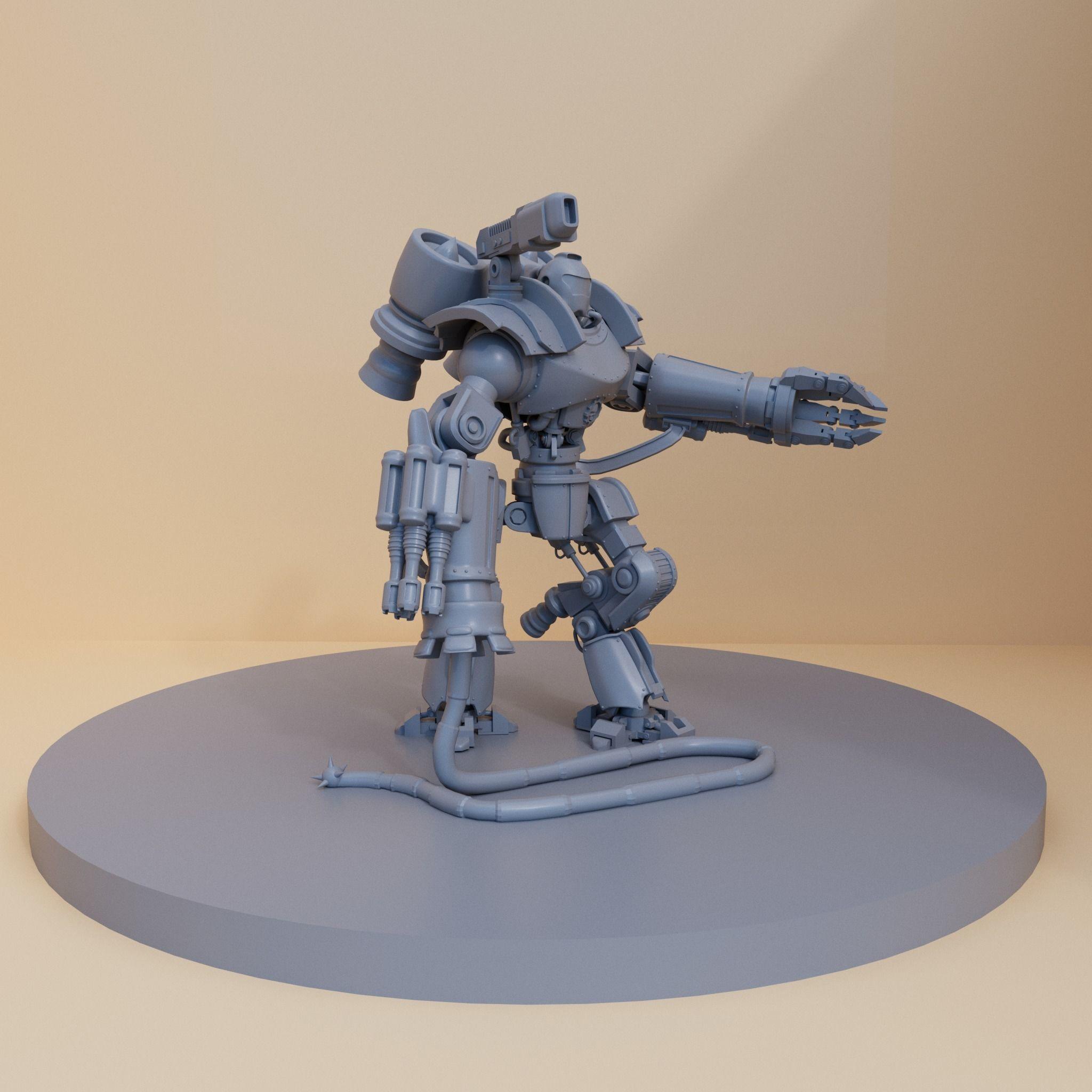 Justice robot