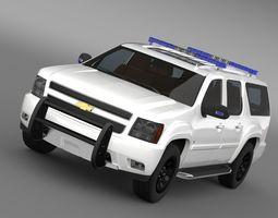3D Chevrolet Suburban Z71 Police