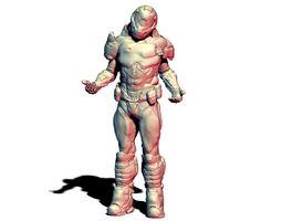 3D print model DOOM Marine