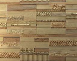 Wanderwall Phoenix 3d Wall Wood Tiles