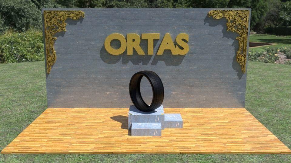 ORTAS TIRE NO 16 GAME READY