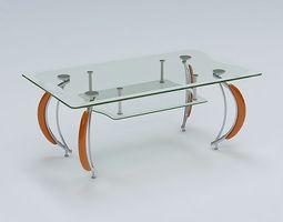 Center Table 3D model center