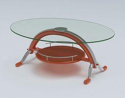 Center Table 3D model center room