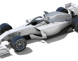3d generic f1 2015-2016 race car