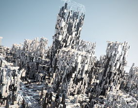 3D Greeble City