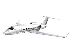 3D Gulfstream 450 NetJets Aviation