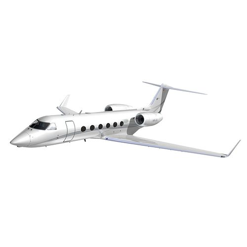gulfstream 450 private livery 2 3d model animated max obj mtl 3ds lwo lw lws hrc xsi dxf 1