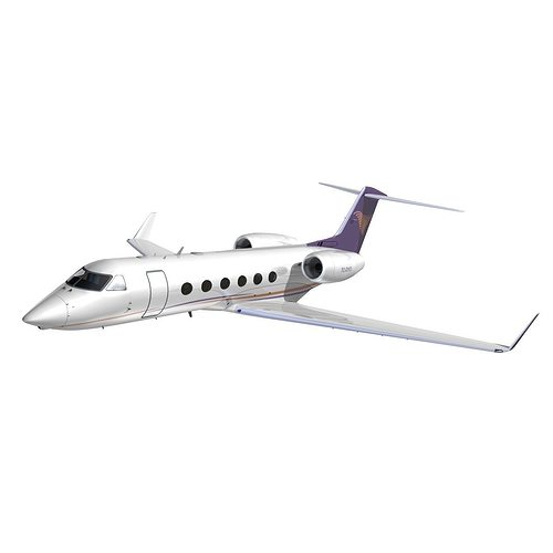gulfstream 450 private livery 3 3d model animated max obj mtl 3ds lwo lw lws hrc xsi dxf 1