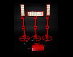 LED Light - RCA For Infinite Seamless White 3D print model