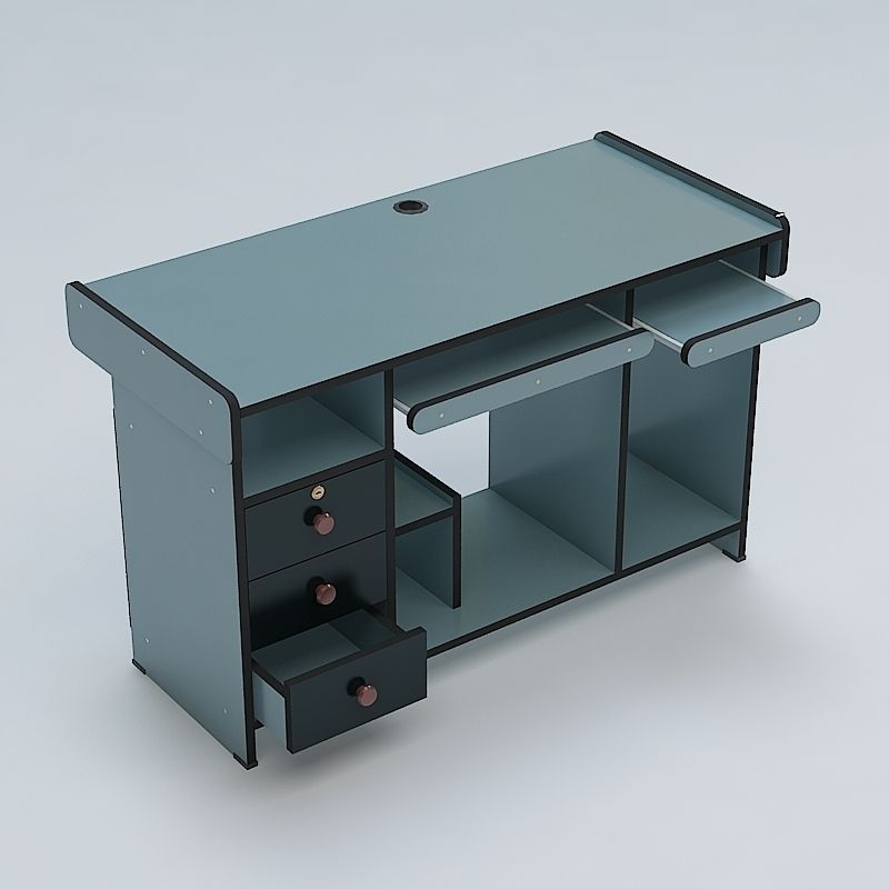 Computer Steel Table Models Picture