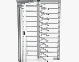 Turnstile Single Gate Full Height 3D