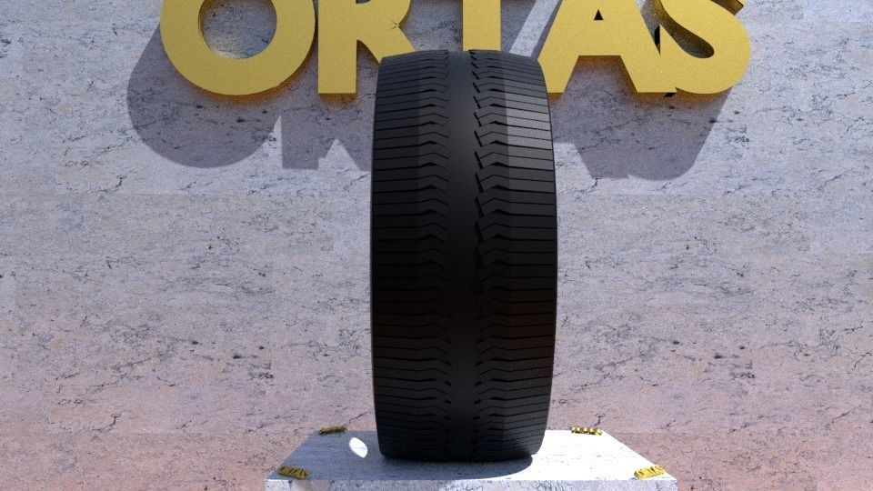 ORTAS TIRE NO 29 GAME READY AND 3D PRINTABLE