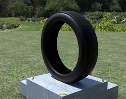 3D asset ORTAS TIRE PACK 2 INCLUDING 5 GAME READY TIRES