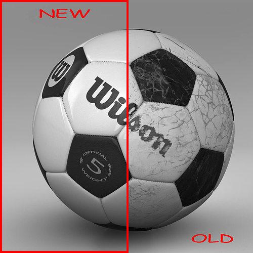 soccerball bicolor 3d model max obj mtl 3ds fbx ma mb 1