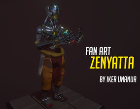 Zenyatta overwatch 3D print model