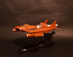 3D printable model UFO Lunar module and Lunar
