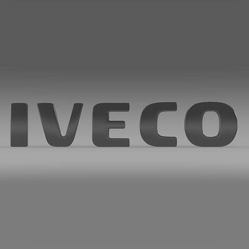 Iveco Logo 3D Model MAX OBJ 3DS FBX C4D LWO LW LWS