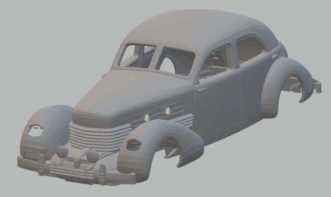 Cord 812 - 1937 Printable Body Car