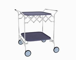 3D model kartell Gastone Trolley