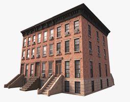 Generic Buildings New York 3D asset