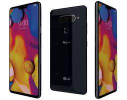 3D LG V40 ThinQ Aurora Black