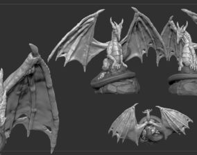 3D printable model Dragon Character