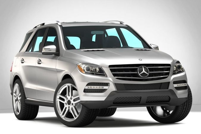 3d Mercedes Benz Ml350 Amg Cgtrader