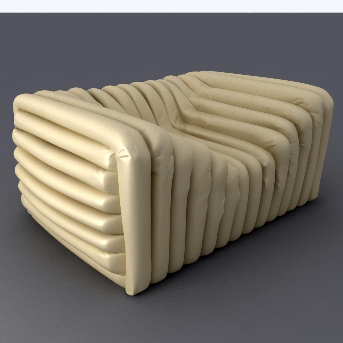 Versace Bubble Sofa 3d Model Max Obj 3ds Fbx Mtl 3 .