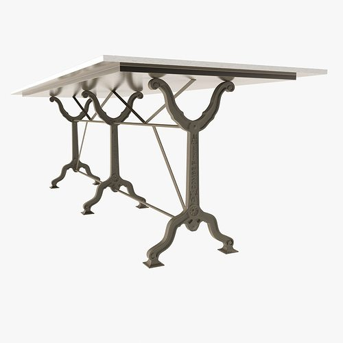 Large Size Of Marble Dining Om Table Restoration Hardware: Restoration Hardware Factory Zinc Cast Iron Dining Tables