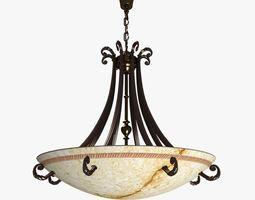 3D Possoni 2750 Ceiling Light