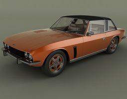 Jensen Interceptor Coupe 1976 3D Model