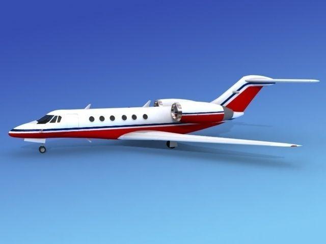 Cessna Citation X V11 3d Model