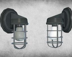 3D model Light Fixture 01