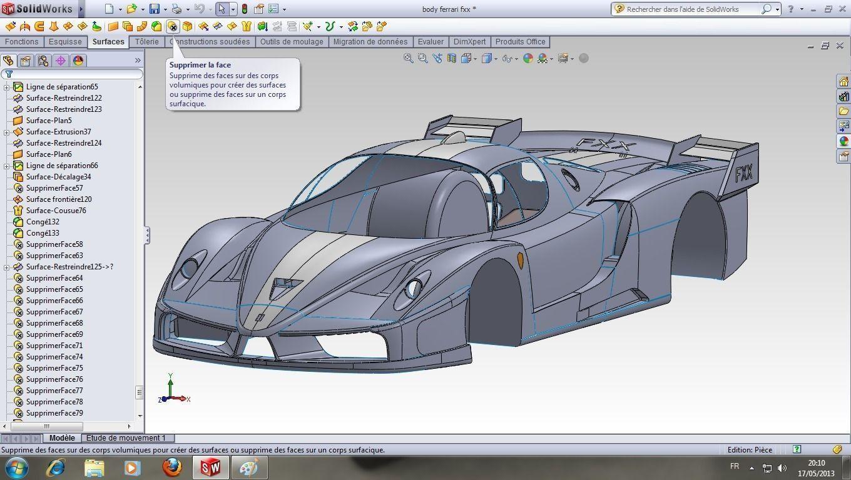 Car Body Design Free 3d Model Sldprt Sldasm Slddrw Autos