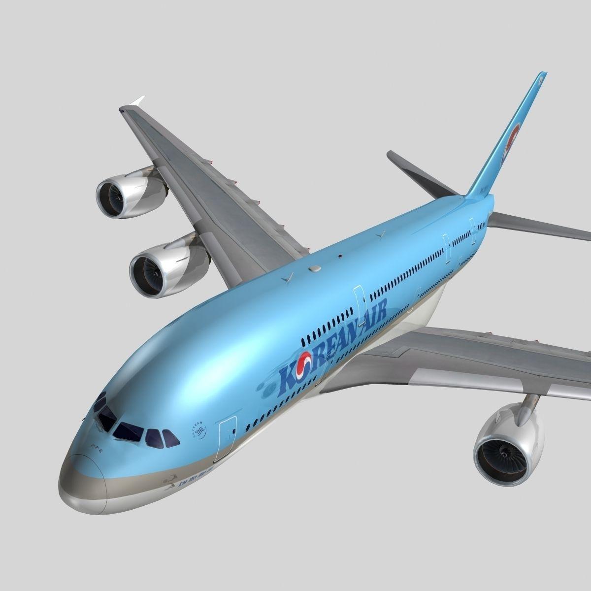 Airbus A-380 Korean Air