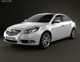 Vauxhall Insignia hatchback 2012 3D