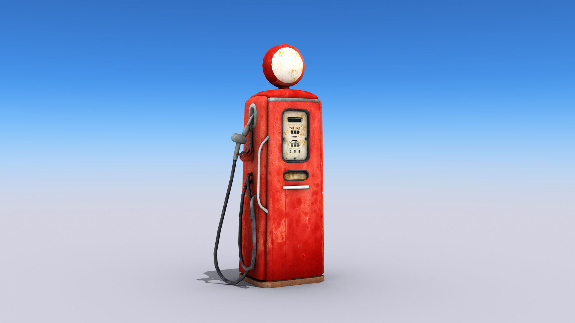 Old Style Gas Pump