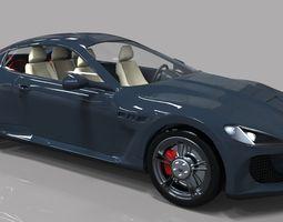 Maserati Gt 3D Model