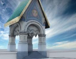 St Nikolai pronaos 3D model