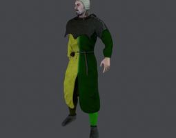 Medieval Civilian 1 3D asset